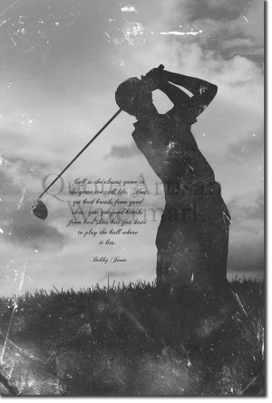 Motivational Golf Quote