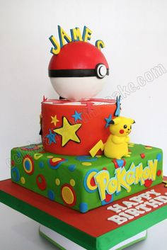 Celebrate with Cake!: Pikachu Cake More