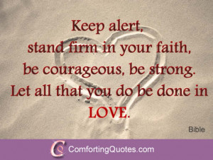 Strong Love Quote from the Bible