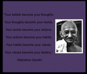 Mahatma Gandhi Famous Quotes