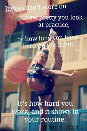 Competitive Cheer Quotes - Page 1