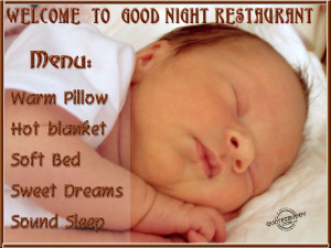 Welcome To Good Night Restaurant