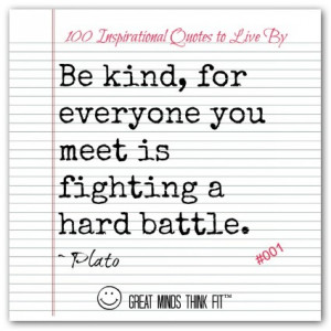 Inspiring Quote by Plato #001