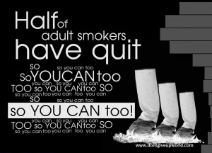 ... Wallpaper on Quit Smoking : Half of the adults have quit smoking