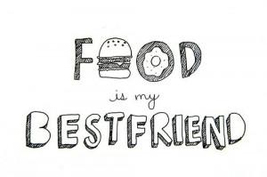 best friend, black, black and white, cute, drawing, eat, egg, food ...
