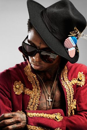 Pictures: Lil Wayne's Photo Shoot With VIBE Magazine x Lil Chuckee ...
