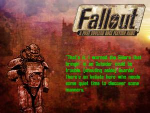 Fallout Wallpaper John Maxson quote by chaoticbeta