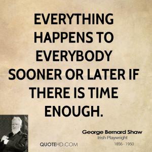 Gee Bernard Shaw Men Quotes