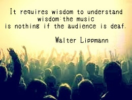 Walter Lippmann quote