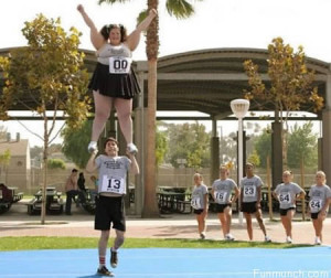 10 Embarrassing Moments in Cheerleading: Fun Unlimited