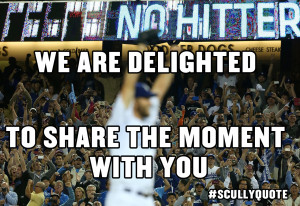 ... the 2015 United States poet laureate to Vin Scully. He's earned it