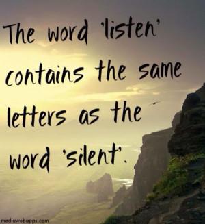 listening quotes