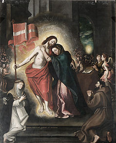 Mystic marriage of Christ and the Church.