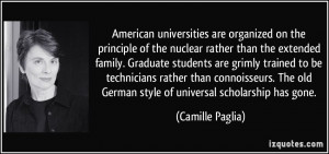 on the principle of the nuclear rather than the extended family ...