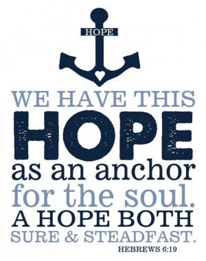 619 Hope, Hebrew 619, Hope Anchors, Verses Hebrew, Hebrews 6 19 Anchor ...