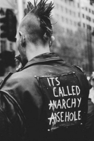 ... anarchy england uk punk 80s old pic its called anarchy arsehole