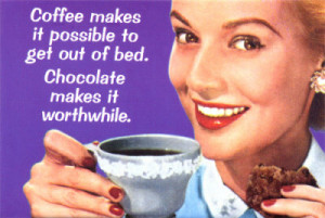 Funny Friday – Chocolate Makes It Worthwhile