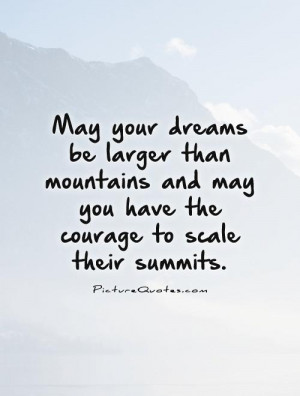 May Your Dreams Quotes
