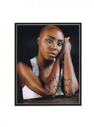 Laura Mvula Autograph Photo Signed