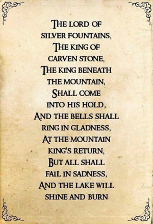 love Tolkien's poems