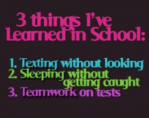 ... , life, people, quotes, school, sleep, students, test, text, truth