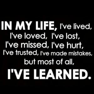 ve learned