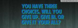 Stepmom Quote ~ Three Options