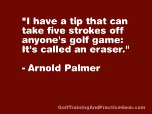 Golf Practice Quotes