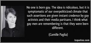 More Camille Paglia Quotes