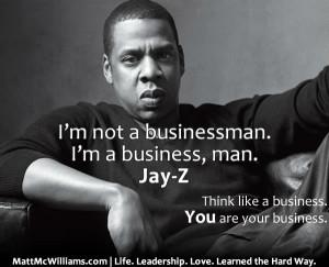 jay z not businessman business man