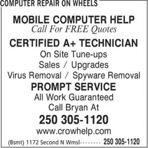 Computer Repair On Wheels