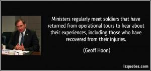 Geoff Hoon Quote