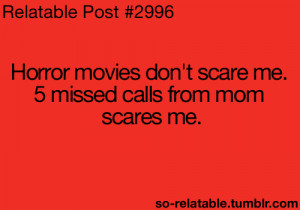scary LOL funny quote quotes movies movie mom horror humor parents