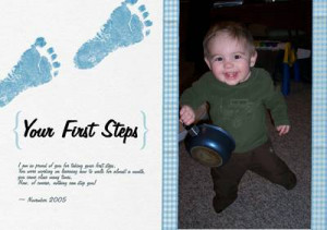 Milestone Moments – Baby's First Steps