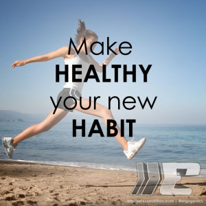 ... living your new habit! #healthyliving #fitness #fitfam #nutrition