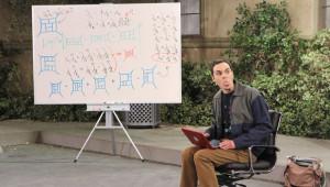 big bang theory whiteboard