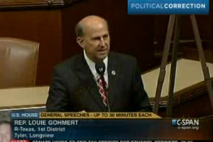 Louie Gohmert says more awful, stupid garbage