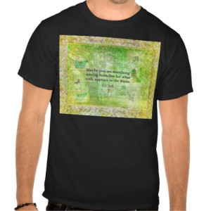 Rumi quote on healing and love tee shirt