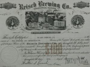 Walter S Reisch theSecretary treasurer and Carl M Reisch the