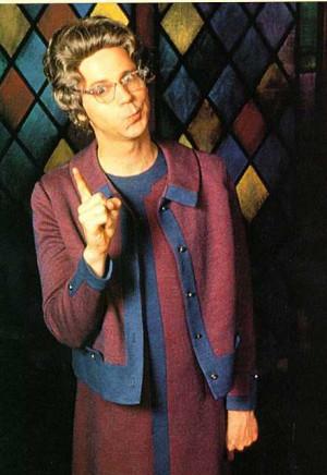 dana carvey as church lady photo found online i suspect church lady is ...