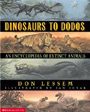Dinosaurs to Dodos: An Encyclopedia of Extinct Animals.
