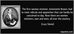More Lucy Stone Quotes