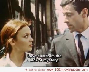 Paris vu par... (1965) Paris Vu Par 1965 quotes 1001 Movie Quotes ...