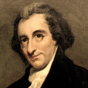"""deist but not an atheist, Thomas Paine maintained, """"I believe in ..."""