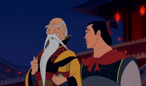 We heart the emperor; he thinks Mulan is the bees knees and we'd ...