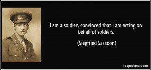 More Siegfried Sassoon Quotes