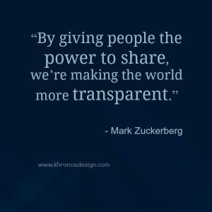 ... Mark Zuckerberg - ww.khronosdesign.com #GrowinNLovintheBIZ #