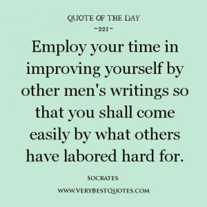 Quotes About Improving Yourself