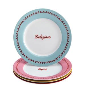 Piece Dessert Plate Set,
