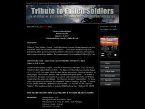 Fallen Soldiers Tribute Tribute to Fallen Soldiers